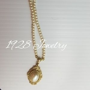 VINTAGE 1928 ANTIQUE JEWELRY NEACKLACE